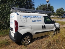 Antennes Service 69 ouvrier artisan